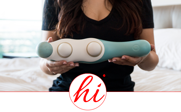 "Review of our ""hi"" massager in Bustle Magazine"